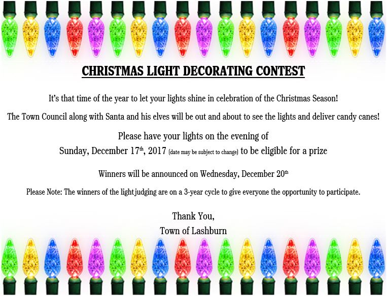 2017 Christmas Light Judging